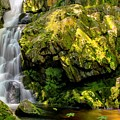 Goldmine Brook Falls Chester Ma by Mary Lou Chmura