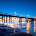 Goleta Pier At Sunrise by Connie Cooper-Edwards