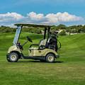 Golf Cart by Tony Baca