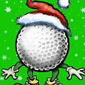 Golf Christmas by Kevin Middleton