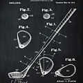 Golf Club Patent 1910 Chalk by Bill Cannon