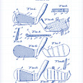 Golf Clubs Patent Drawing by Gary Grayson