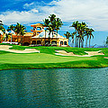 Golf Course At Isla Navadad Resort by Panoramic Images