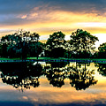 Golf Course Panorama by Amel Dizdarevic