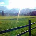Golf Course Sun Rays by Eric Fellegy