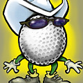 Golf Cowboy by Kevin Middleton