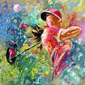 Golf Fascination by Miki De Goodaboom