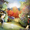 Golf In Gut Laerchehof Germany 02 by Miki De Goodaboom