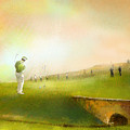 Golf In Scotland Saint Andrews 02 by Miki De Goodaboom