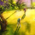 Golf In Spain Castello Masters  01 by Miki De Goodaboom