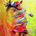 Golf Innocence by Miki De Goodaboom