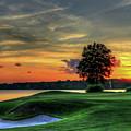 Golf Lake Oconee The Landing Reynolds Plantation Art by Reid Callaway