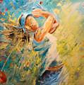 Golf Passion by Miki De Goodaboom