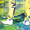 Golf Series - High Hopes by Betty M M Wong