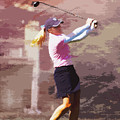 Golfer by David Haskett II