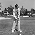 Golfer Teeing Off, Miami, Florida by H. Armstrong Roberts/ClassicStock
