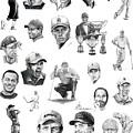 Golfers by Murphy Elliott