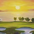 Golfing Heaven by Nicolas Nomicos