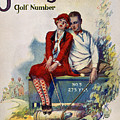 Golfing: Magazine Cover by Granger
