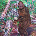 Goliath - The Bigfoot Of Ash Swamp Road by Jonathan Morrill