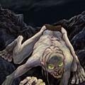 Gollum Descends by Brian Child