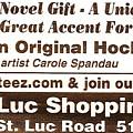 Golteez  Celebrates Carole Spandau Original Hockey Paintings by Carole Spandau