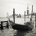 Gondola In Bacino S.marco S by Marco Missiaja
