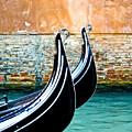 Gondola In Venice 1 by Emilio Lovisa