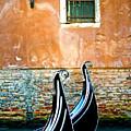 Gondola In Venice 2 by Emilio Lovisa