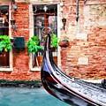 Gondola In Venice by Mel Steinhauer