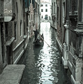 Gondola On Venice Canal by Jean Gill