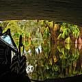 Gondola Under A Bridge by Kathleen K Parker