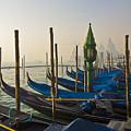 Gondolas At San-marco, Venice, Italy by Svetlana Batalina