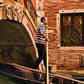 Gondolier by Mick Burkey