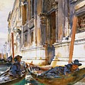 Gondoliers Siesta 1904 by Padre Art