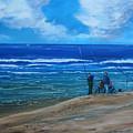 Gone Fishing. by John Cox