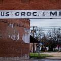 Gone Grocery 4 #vanishingtexas Street Scene Rosebud Texas by Trace Ready