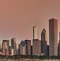 Good Morning Chicago Panorama by Sebastian Musial