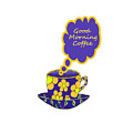 Good Morning Coffee - Beverage Typography by Kathleen Sartoris