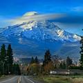 Good Morning Mount Hood by Lynn Hopwood
