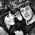 Good Times, Cher, Sonny Bono, On Set by Everett