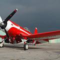 Goodyear F2g-1 Corsair N5588n by Brian Lockett