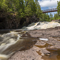 Gooseberry Fifth Falls 9 by John Brueske