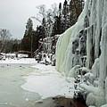 Gooseberry Frozen Falls by James Peterson