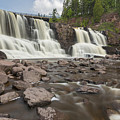 Gooseberry Middle Falls 24 by John Brueske