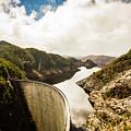 Gordon Dam Tasmania  by Jorgo Photography - Wall Art Gallery