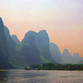 Gorge Of The Li River by Marvin Wolf