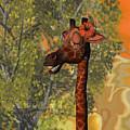Gossiping Giraffe by Judi Suni Hall