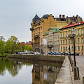Gothenburg Canal And Park by Antony McAulay