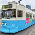 Gothenburg City Tram by Antony McAulay